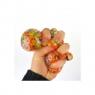 Piłeczka z kuleczkami do ściskanaia - gniotek 7cm