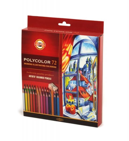 Kredki artystyczne Polycolor 3837, 72 kolory (369763)