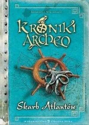 Kroniki Archeo Skarb Atlantów (Uszkodzona okładka) Stelmaszyk Agnieszka