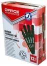 Marker permanentny OFFICE PRODUCTS okrągły, 1-3mm (linia), zielony 12 sztuk