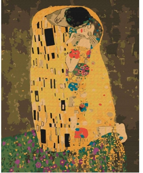 Obraz Malowanie po numerach - Pocałunek (BS21783)