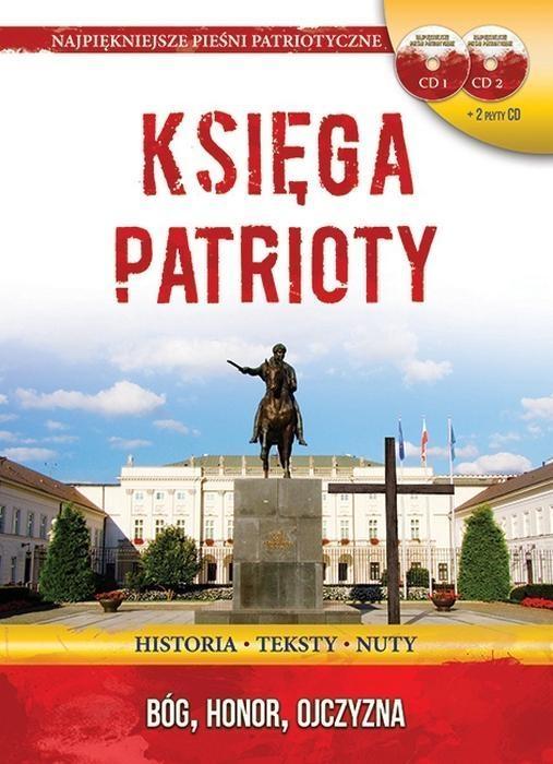 Księga Patrioty S Pałac Prezydencki + 2CD wersja D praca zbiorowa