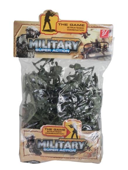 Żołnierze w worku