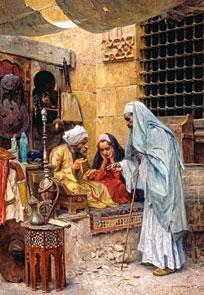 Puzzle 1000 Copy of A bazaar (102952) .