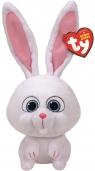 Maskotka Beanie Buddies: Sekretne życie zwierzaków domowych - Snowball 27 cm (96295)