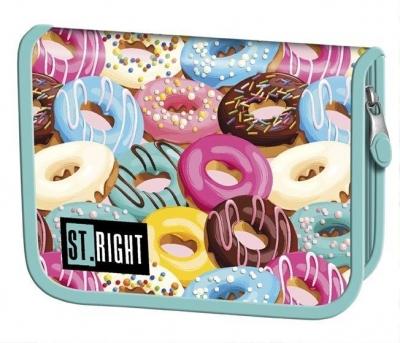 Piórnik dwuklapkowy bez wyposażenia Donuts