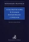 Suma przymusowa w polskim postępowaniu cywilnym Krakowiak Michał