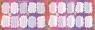 Podkładka dwustronna laminowana Tabliczka (10szt)