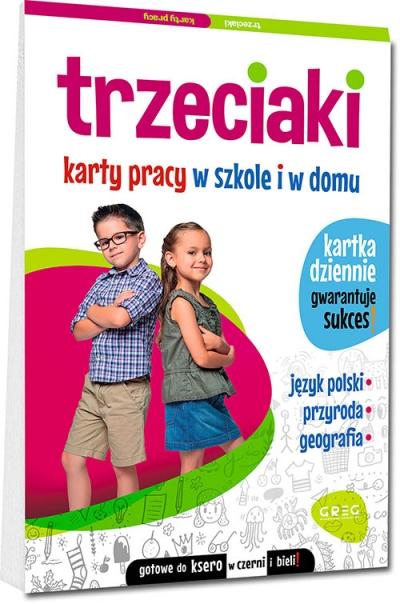 Trzeciaki. Karty pracy w szkole i w domu Marta Kurdziel