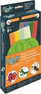 3Doodler zestaw szablonów robaki