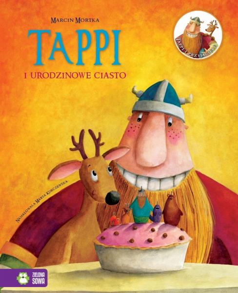 Tappi i urodzinowe ciasto Mortka Marcin