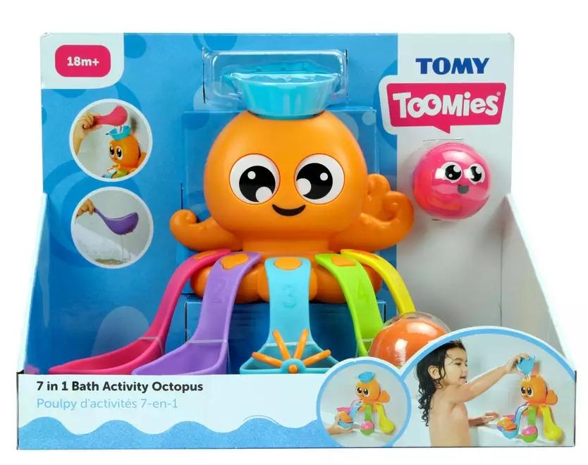 Tomy Toomies - Kąpielowa ośmiorniczka (E73104)