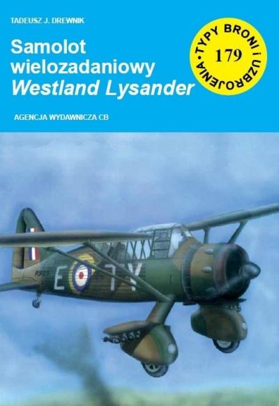 Samolot wielozadaniowy Westland Lysander Tadeusz Drewnik