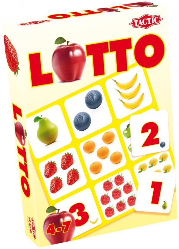 Lotto numery i owoce  (40395)