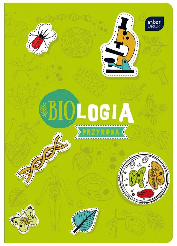 Zeszyt A5/60 kartkowy w kratkę - Biologia/przyroda