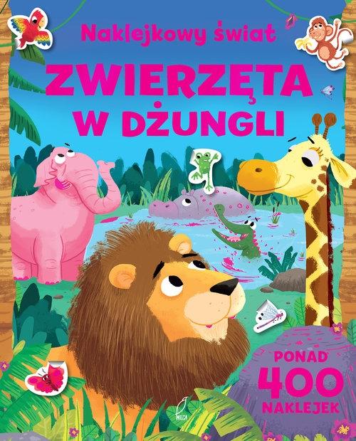 Naklejkowy świat Zwierzęta w dżungli