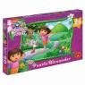 Puzzle Maxi 20 Dora poznaje świat Kolorowa kraina (1095)