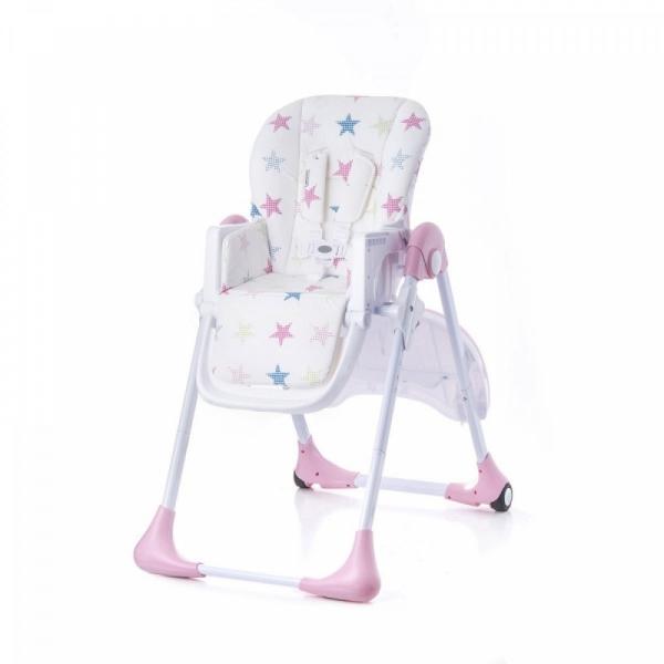Krzesełko do karmienia Kiki Pink (BTKKIKIPNK0000)
