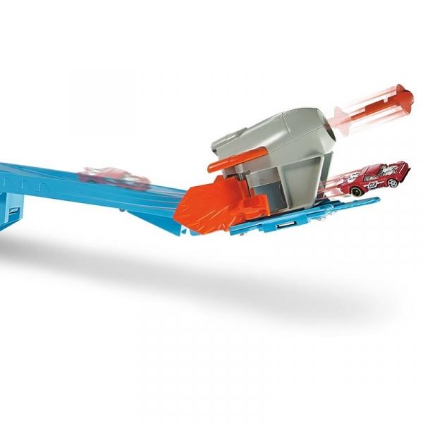 Hot Wheels Track Builder Zestaw Wyrzutnia Rakiet (FLK60)