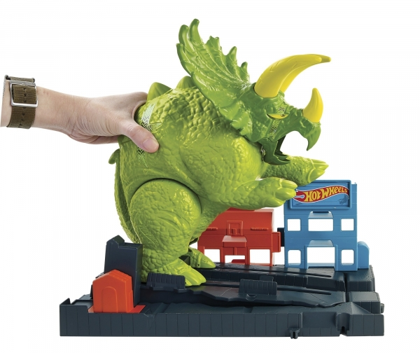 Hot Wheels City: Starcie z Triceratopsem