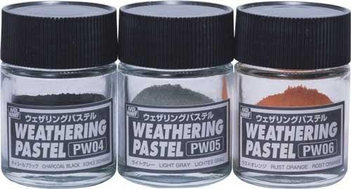 MR.HOBBY Weathering Pastel Set 2