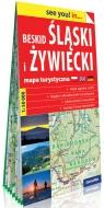 Beskid Śląski i Żywiecki papierowa mapa turystyczna 1:50 000