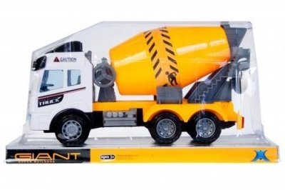 Auto ciężarowe betoniarka