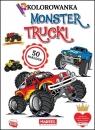 Kolorowanka z naklejkami. Monster trucki