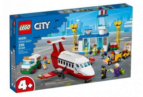 Klocki City Centralny port lotniczy (60261)