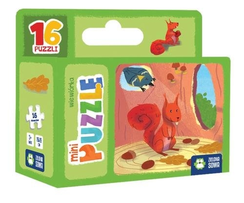 Minipuzzle. Wiewiórka