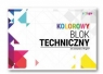 Blok techniczny A4/20k 170g kolor (SPA020)
