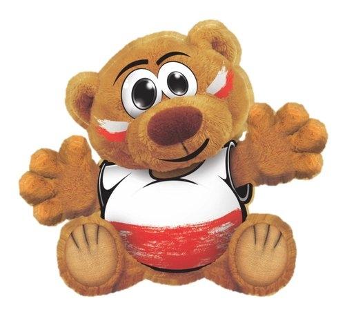 Funny Bear Kibic Napisz swoje hasło