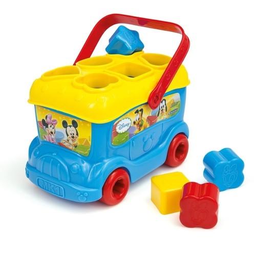 Autobus Baby Mickey z klockami do wkładania (14395)