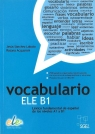 Vocabulario ELE B1 Książka