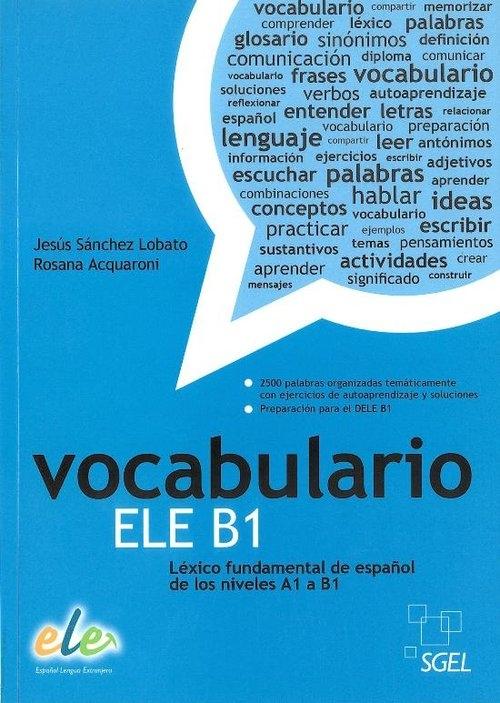 Vocabulario ELE B1 Książka Lobato J.S., Acquaroni R.