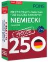 250 ćwiczeń ze słownictwa Niemiecki+ 250 zagadek