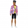 Barbie: Ken 60-lecie - lalka Rockowy Derek (GRB41/GRB44)