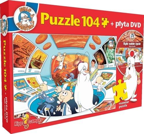 Puzzle 104: Było sobie życie - Centrum Dowodzenia + płyta DVD (1956)