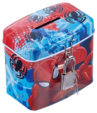Skarbonka metalowa Spiderman