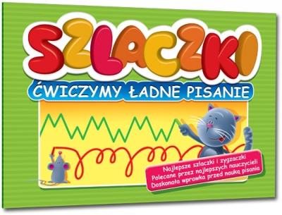 Szlaczki - ćwiczymy ładne pisanie Renata Pitala
