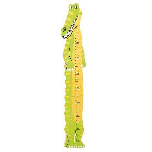Ścienna Miara Wzrostu  Krokodyl