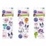 Naklejki Sticker BOO silver Littlest Pet Shop