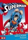 Naklejkowe puzzle. Superman