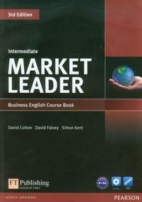 Market Leader Intermediate Business English Course B1 Book + DVD Cotton David, Falvey David, Kent Simon
