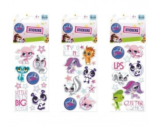 Naklejki Sticker BOO silver - Littlest Pet Shop