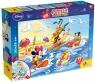 Puzzle dwustronne plus Myszka Miki i Goofy 108 (47956)