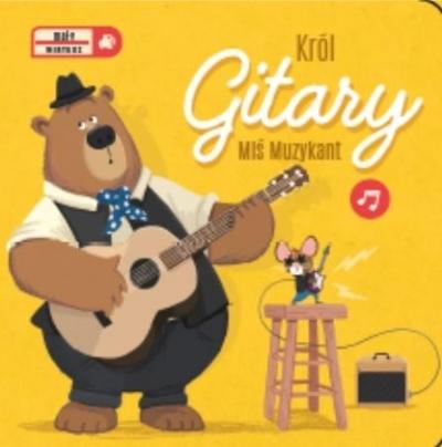 Mały wirtuoz - Król Gitary (Uszkodzona okładka) praca zbiorowa
