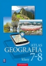 Atlas Geografia. Klasy 7 - 8 szkoła podstawowa praca zbiorowa