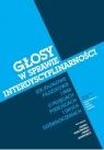 Głosy w sprawie interdyscyplinarności