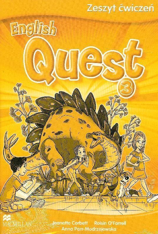 English Quest 3 SP. Ćwiczenia Jeanette Corbett, Roisin O'Farrell, Anna Parr-Modrzejewska